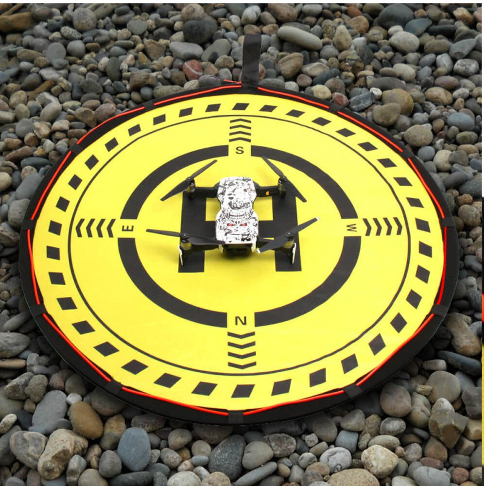 Heliponto  ou Pista de Pouso 70cm com Led Drones  DJI Spark / Mavic / Phantom