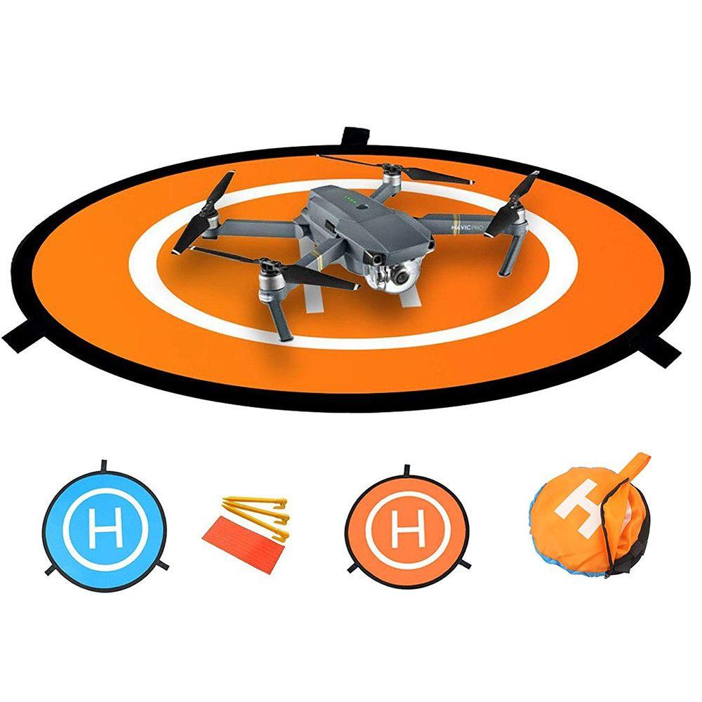 Heliponto Pista de Pouso ou aterrizagem 75cm Drone DJI Mavic Phantom Inspire 75cm