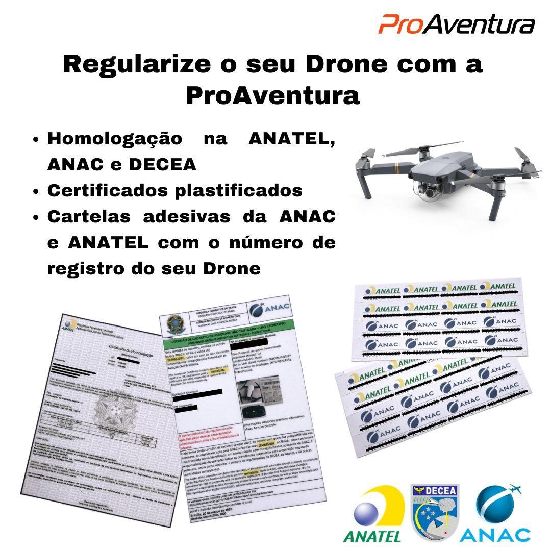 Homologação Para Drone ANATEL / ANAC / DECEA