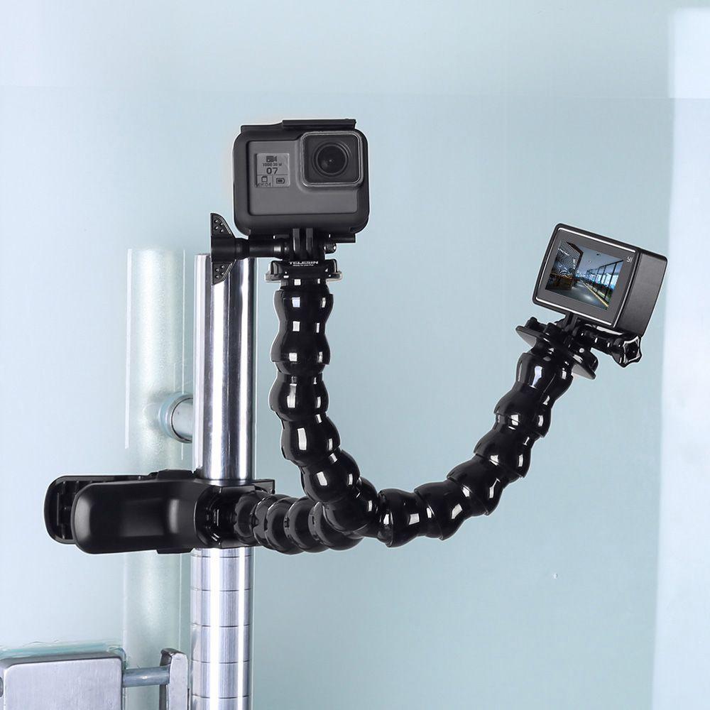 Jaws Flex Duplo Grampo para câmeras de ação GoPro Hero e SJCam