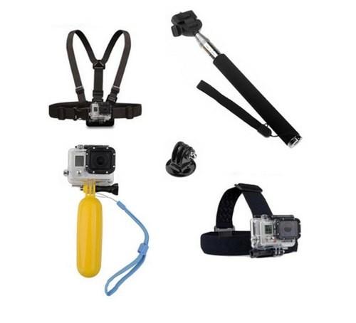Kit Acessórios 5 Em 1 para Todas GoPro
