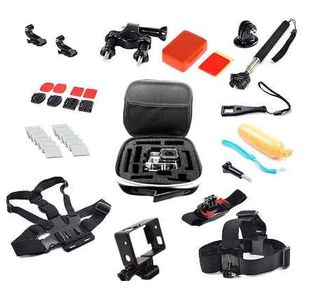 Kit Acessórios GoPro - Hero 3/3+/4