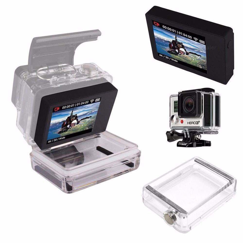 Kit Caixa Estanque com Tampa extensora Para LCD - GoPro 3+/4