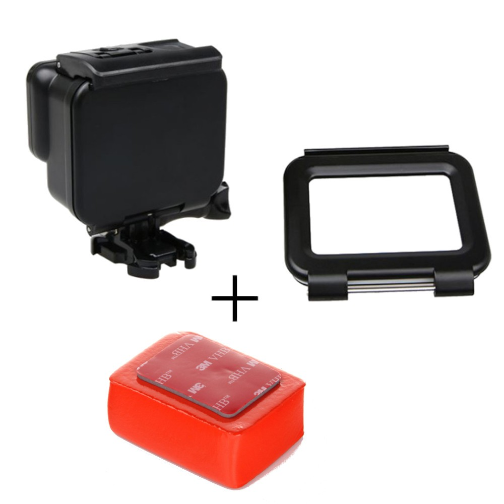 Kit Caixa Estanque fechada GoPro + Tampa Touch + Boia