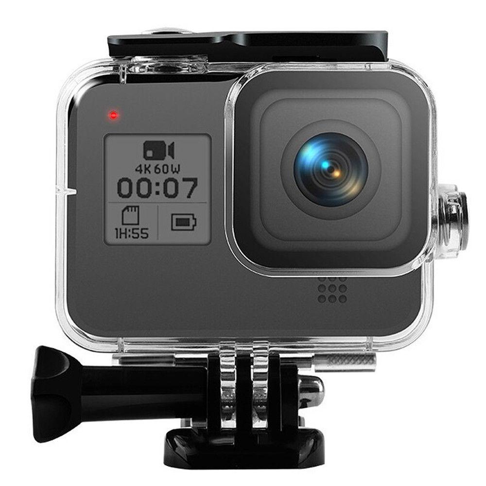 Kit Caixa Estanque para GoPro 8 + Filtro Vermelho Claro