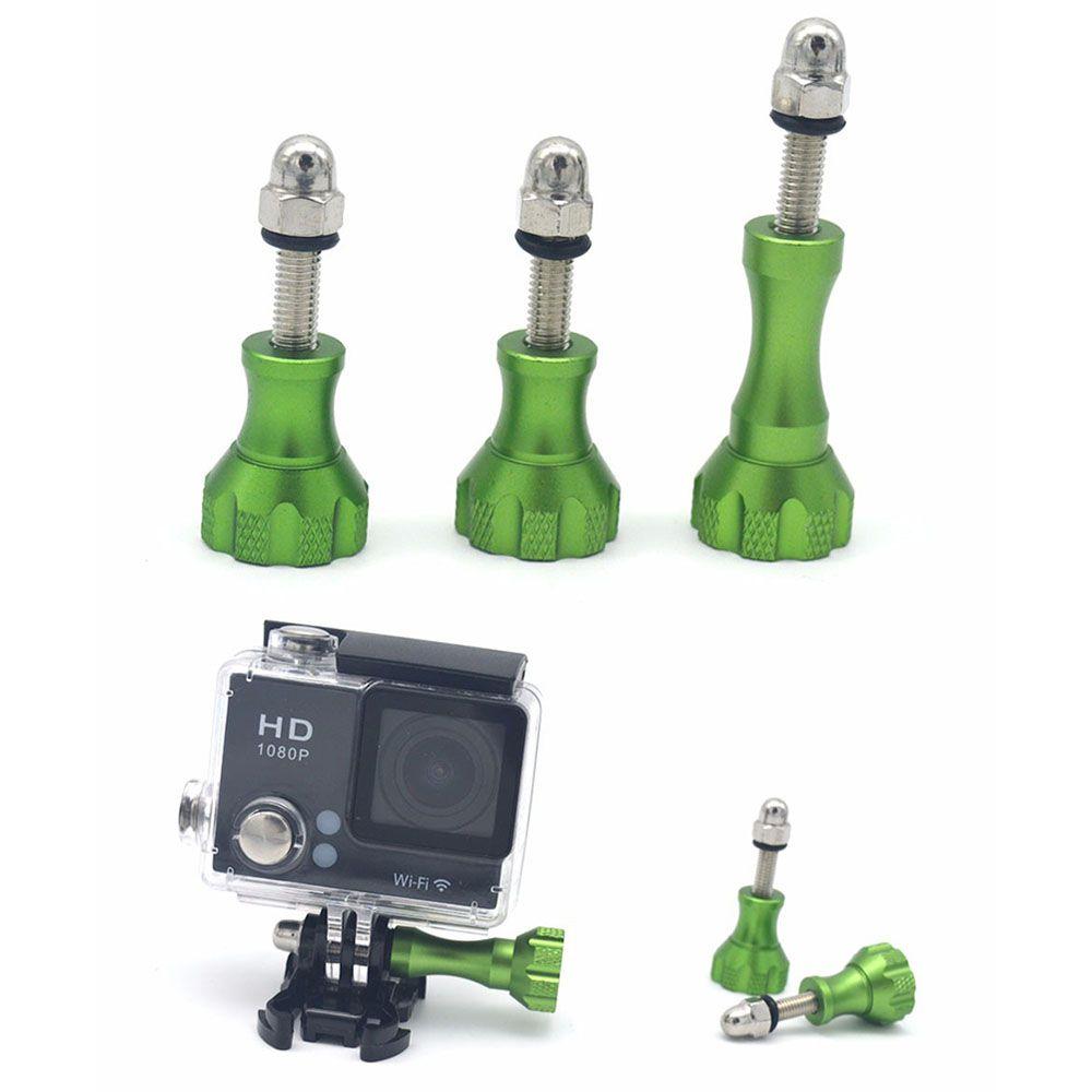 Kit Parafuso Verde em Alumínio GoPro