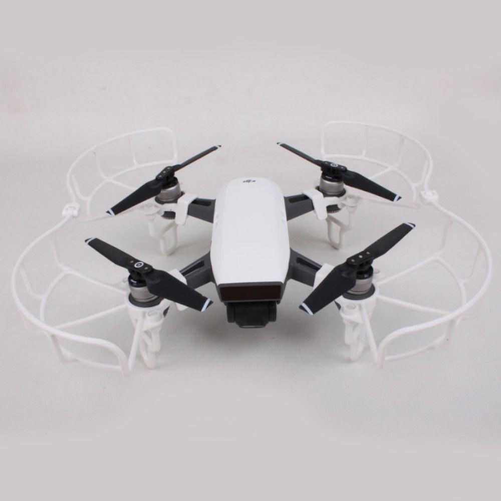kit Proteção Branco para Drone DJI Spark: hélice + extensor trem de pouso