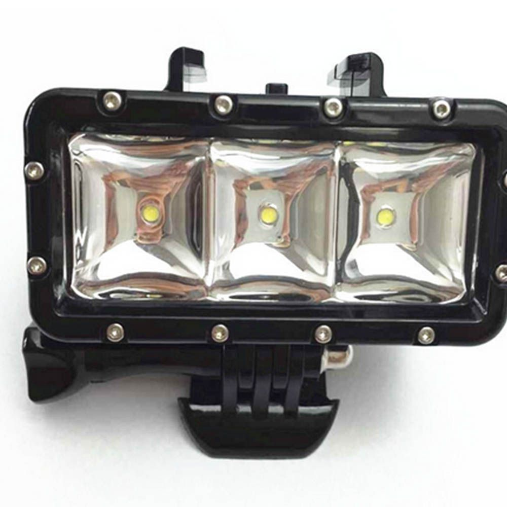 Luminária Pro Led Light Flash para GoPro Hero