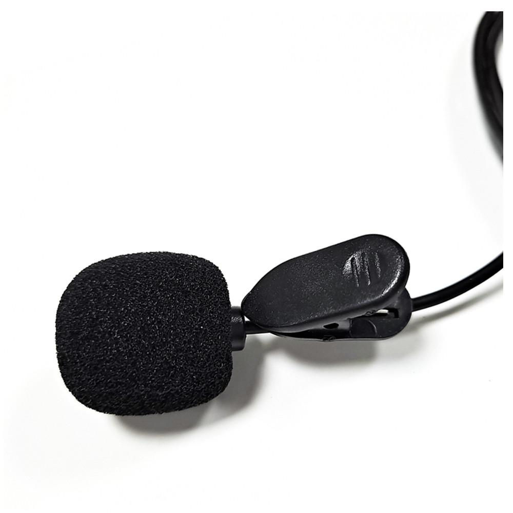 Microfone Lapela com pino P2 Câmeras e Celular
