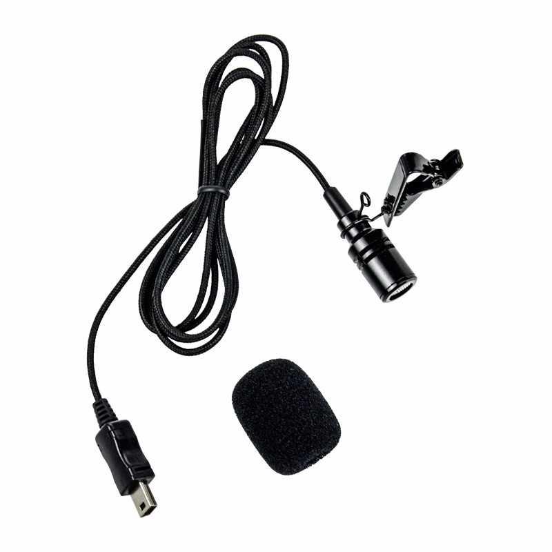 Microfone Lapela para Câmeras GoPro Hero 3, 3+, 4