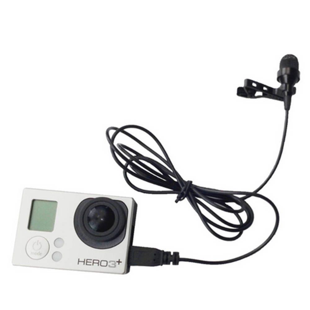 Microfone Telesin para GoPro Hero 3,3+,4
