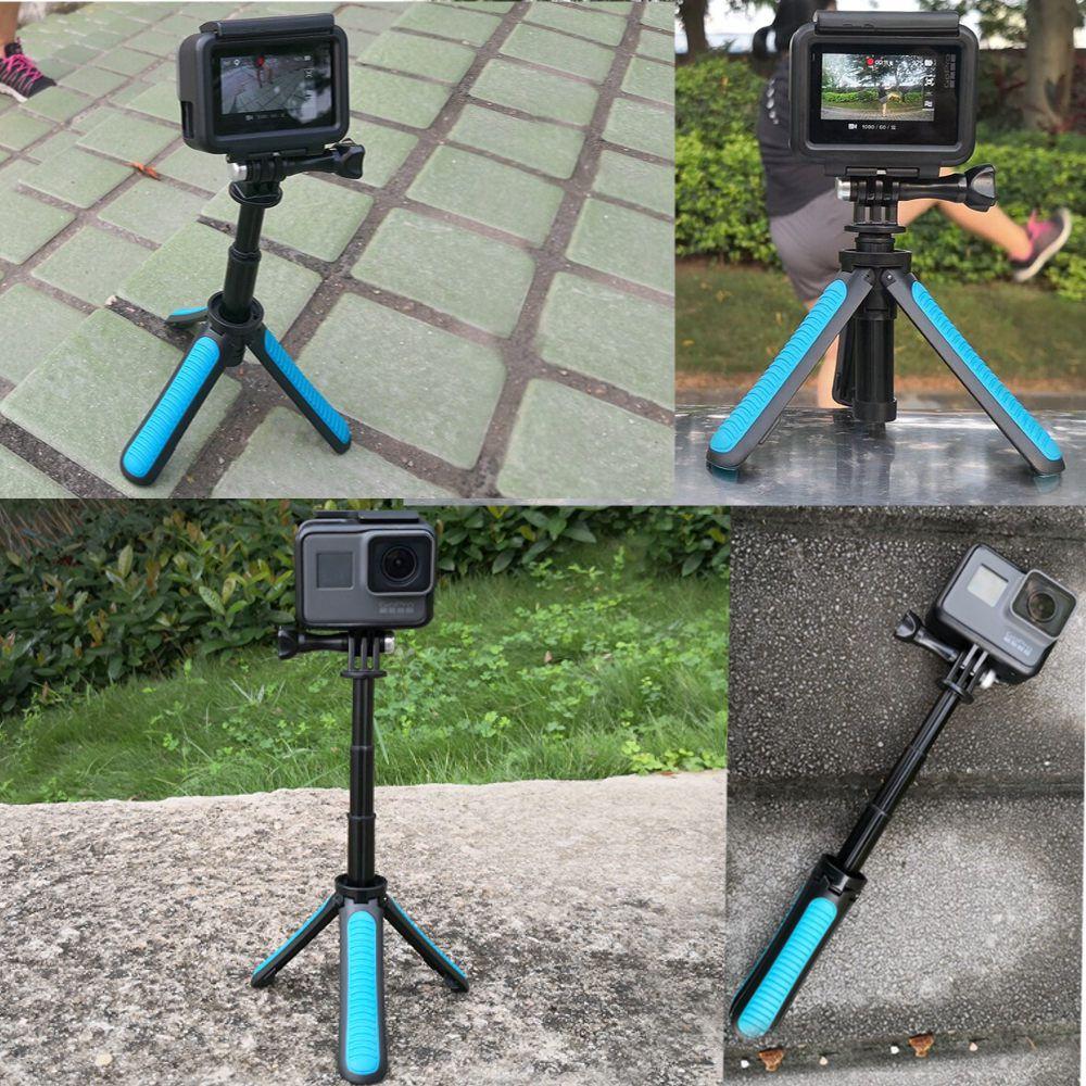 Mini Tripé com Encaixe Padrão 1/4 para Câmera de Ação