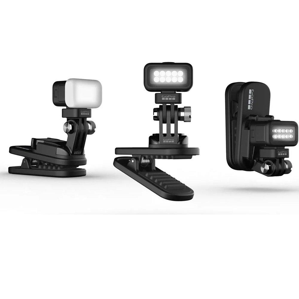 Mini Zeus - Clipe giratório + Módulo Luz Original câmera GoPro ALTSK-002