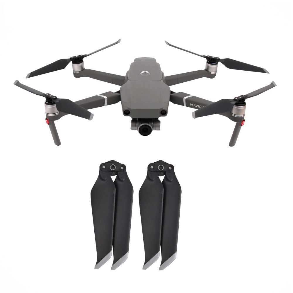 Par de Hélices dobráveis para Drone DJI Mavic 2 Pro - Cinza
