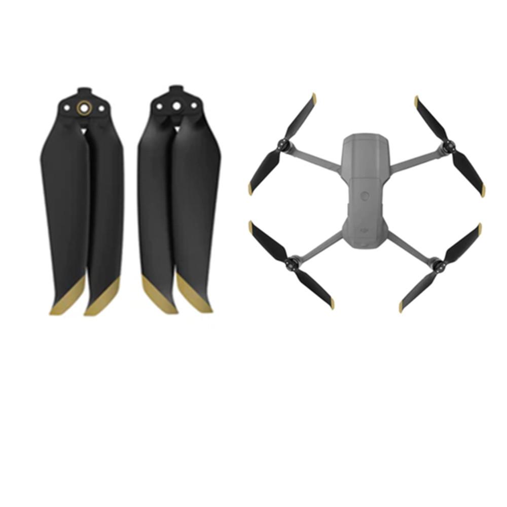 Par de Hélices para Drone DJI Mavic Air 2  - Dourado