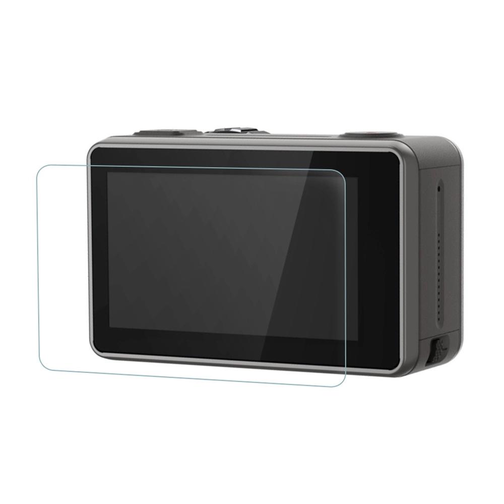 Película de Vidro Para Lente e LCDs Câmera Osmo Action