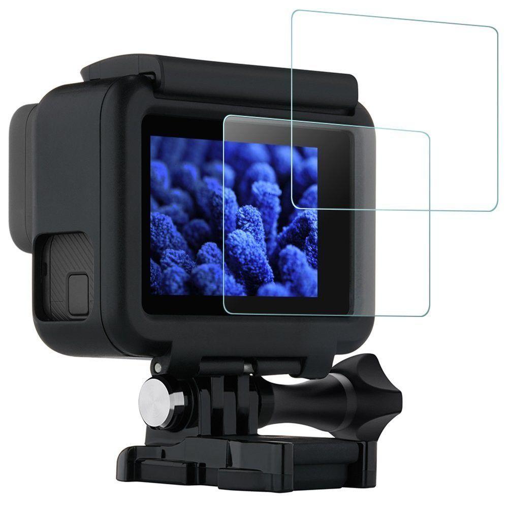 Película De Vidro Para Proteção Lcd GoPro Hero 5, 6, 7 Black