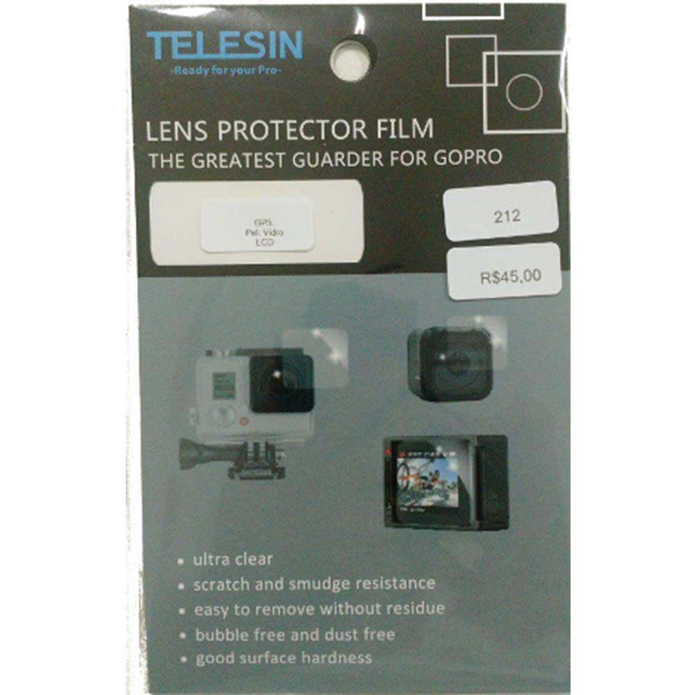 Película De Vidro Para Proteção Lcd GoPro Hero 5, 6, 7