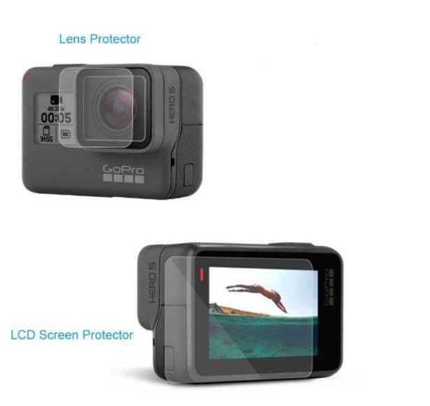 Película Lente e Lcd para GoPro 5, 6, 7 black