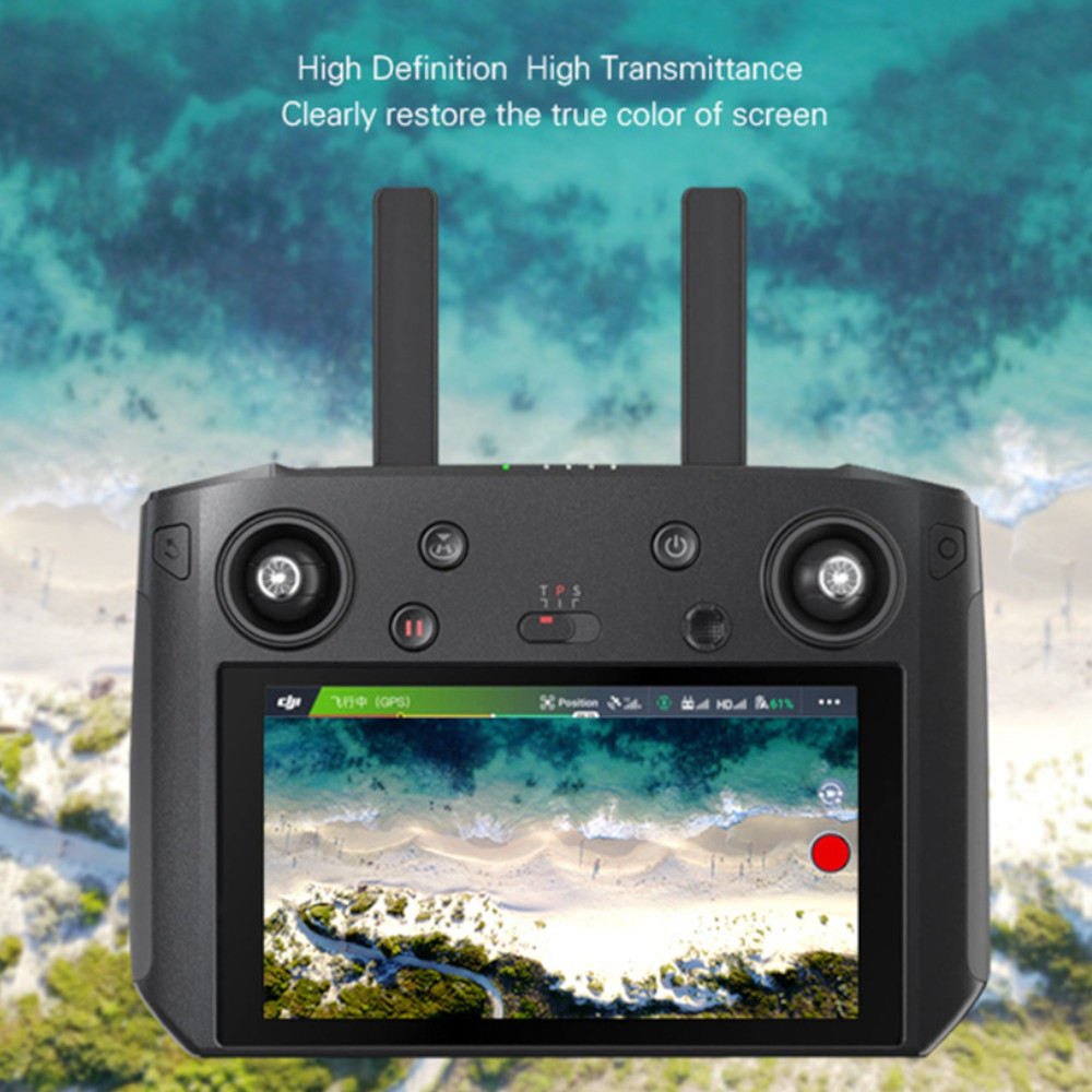 Película protetora de tela para controle remoto Drone DJI Mavic 2 Pro