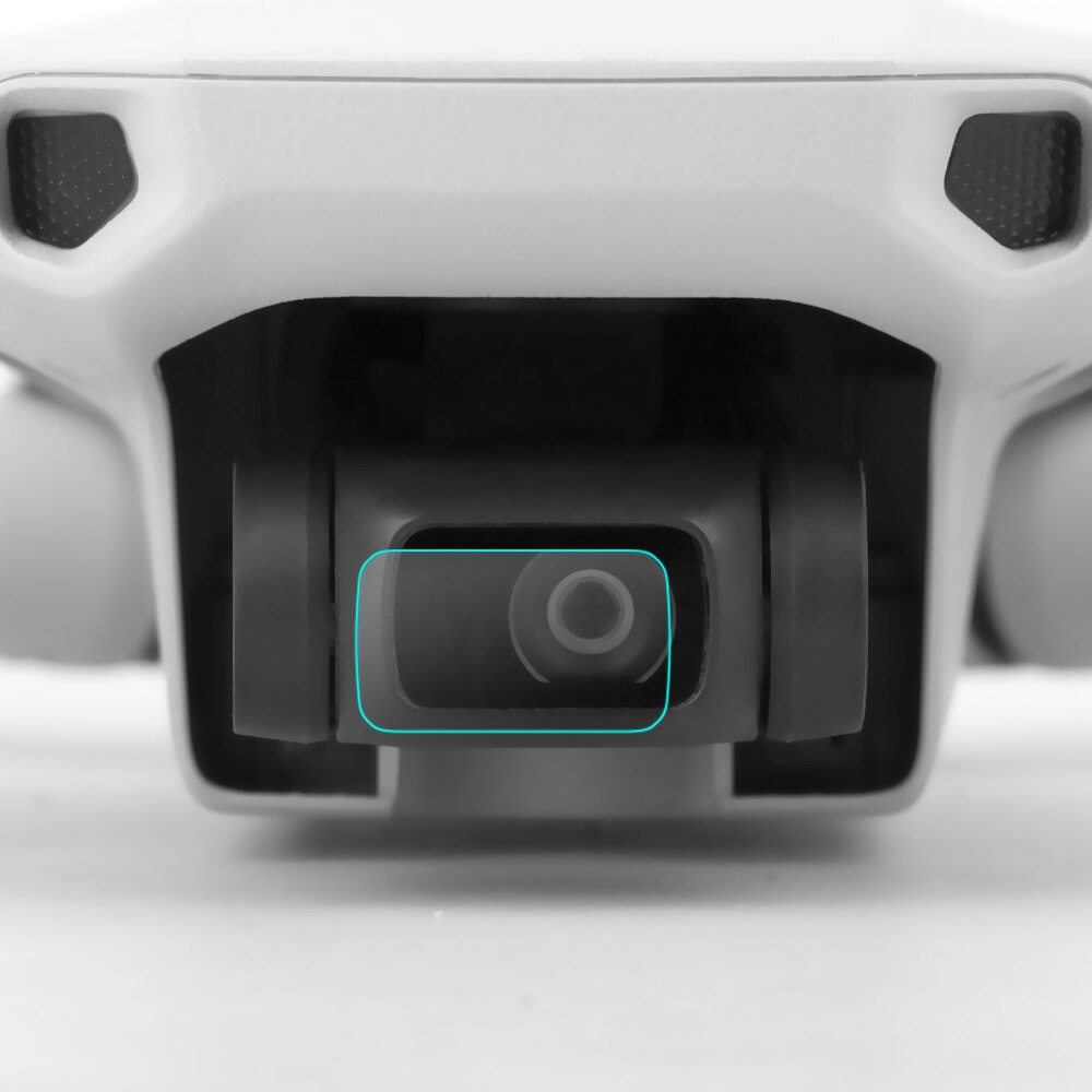 Películas de vidro 2pcs proteção de lente Drone Mavic Mini
