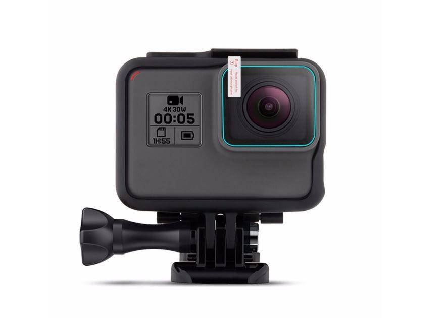 Películas de Vidro para Lente e LCD GoPro Hero 5, 6, 7