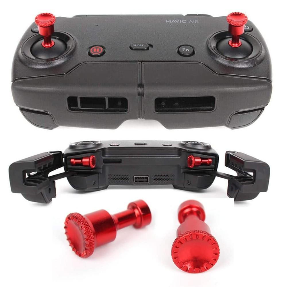 Pino Controlador de Joystick para Controle Remoto DJI Mavic Air - Vermelho