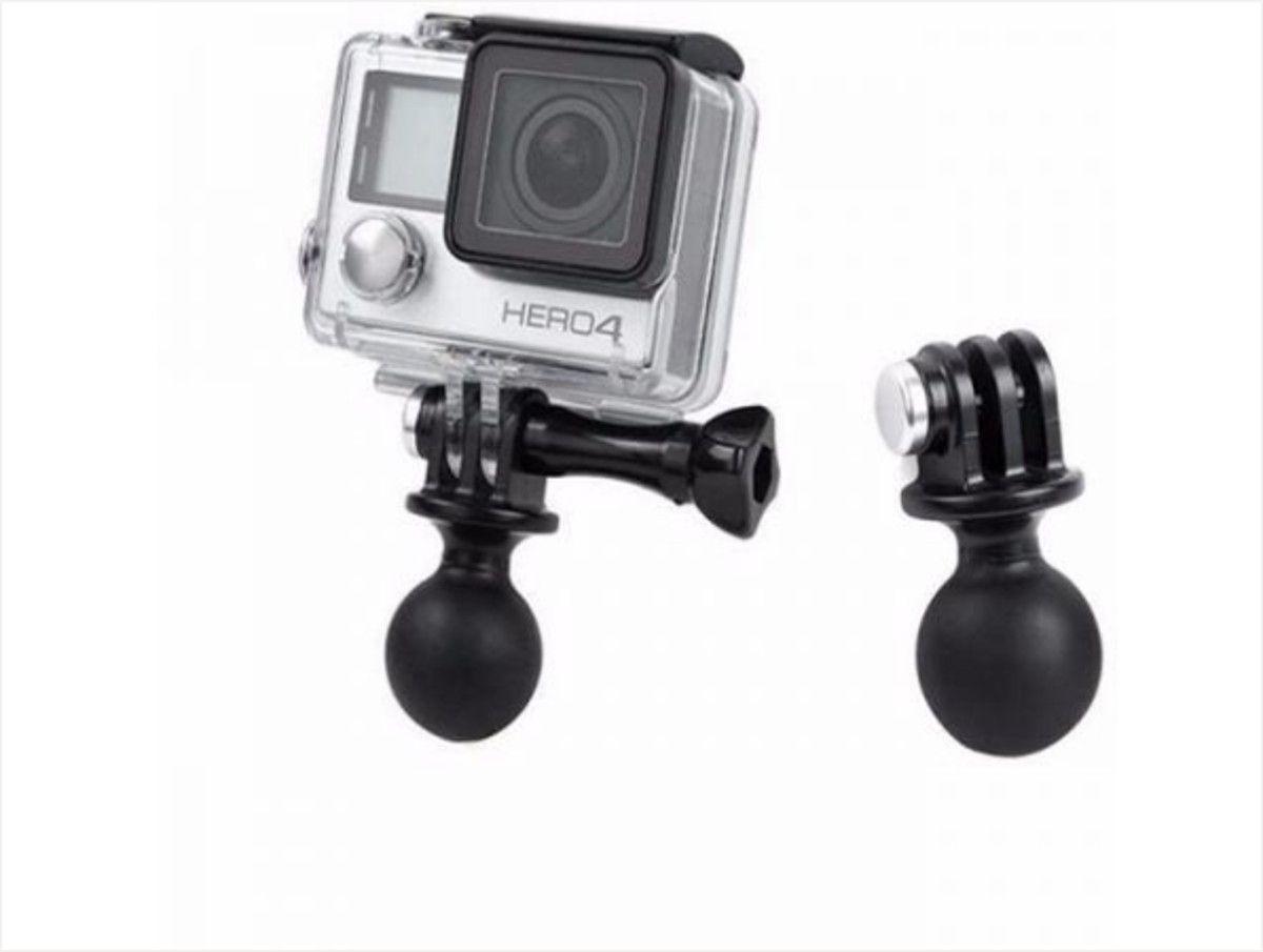 Pivot Ball Bola Rotação para Câmeras de Ação GoPro Hero SJCam Xiaomi