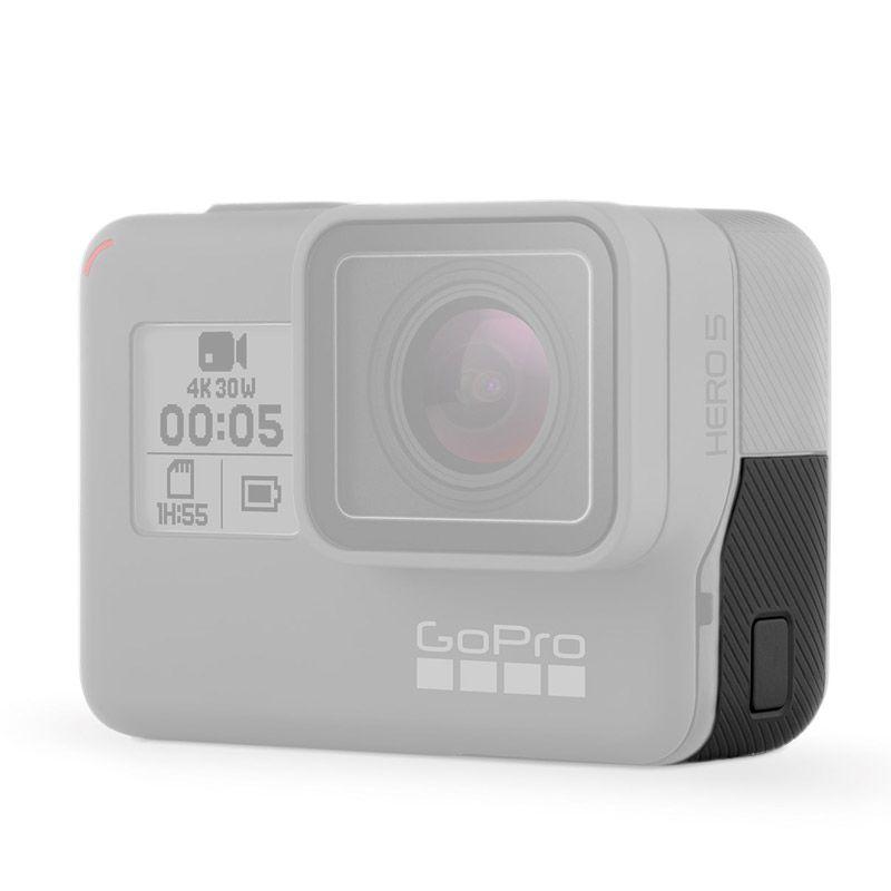 Porta Tampa Lateral Para Câmeras GoPro Hero 5/6 Black