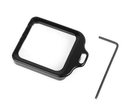 Proteção Anel Metálico para Câmeras GoPro Hero 3+, 4 - Preto