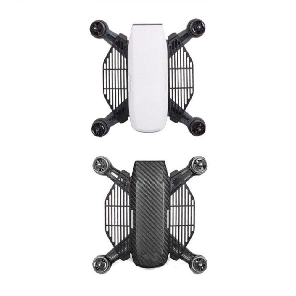 Protetor de dedos Preto para decolagem e pouso nas mãos - Drone DJI Spark