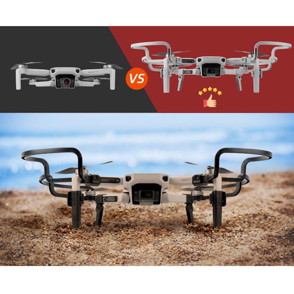 Protetor de hélice e trem de pouso para drone DJI Mavic Mini