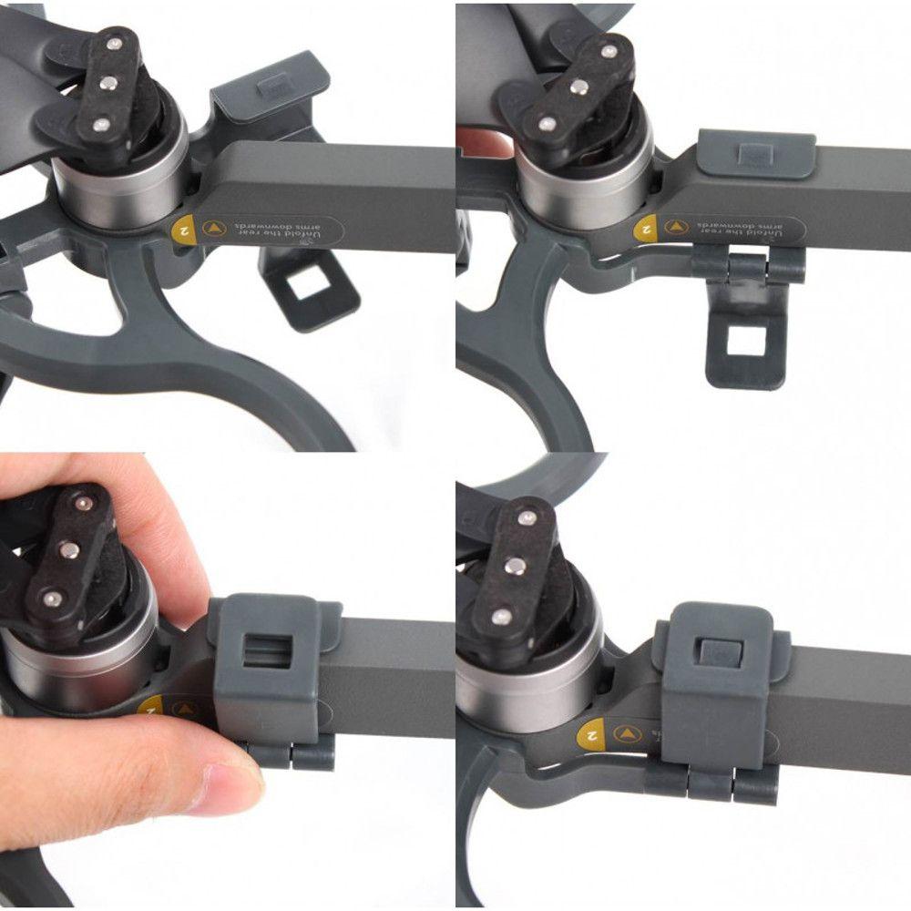 Protetor de Hélices com Extensor Trem de Pouso Drone DJI Mavic Pro