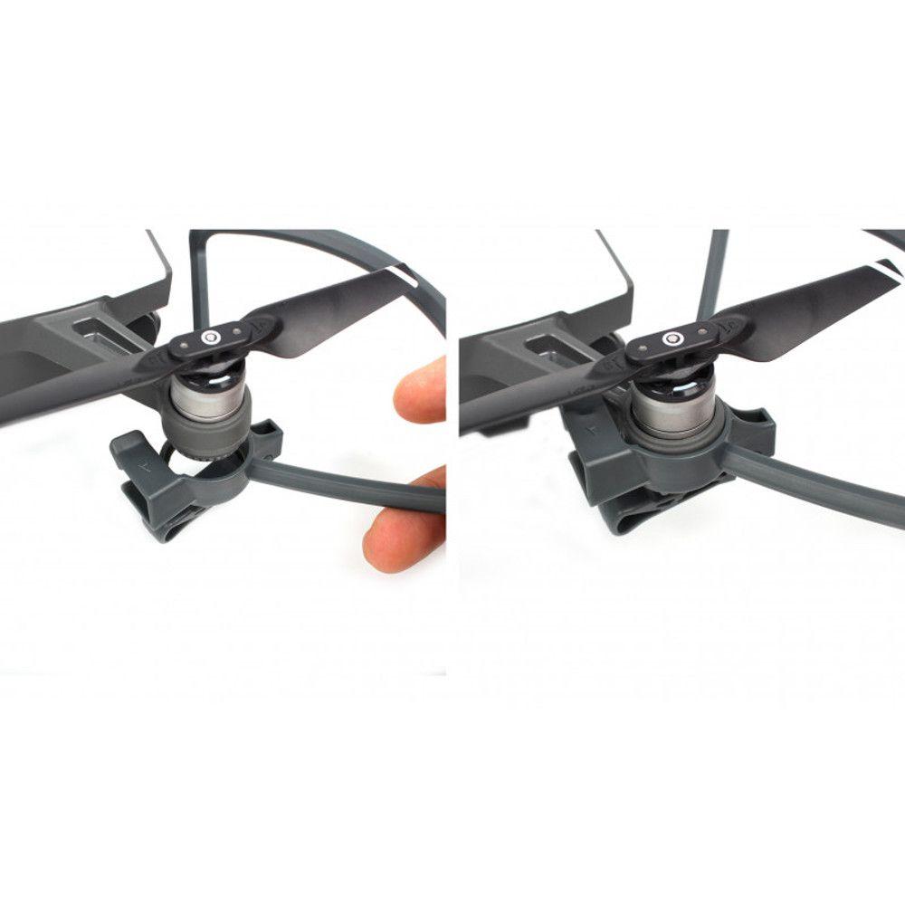 Protetor de Hélices Com Trem de Pouso Dobrável Para Drone Dji Spark