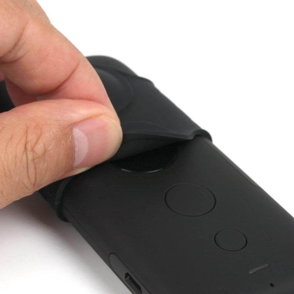 Protetor de lente em silicone para câmera Insta360 One X