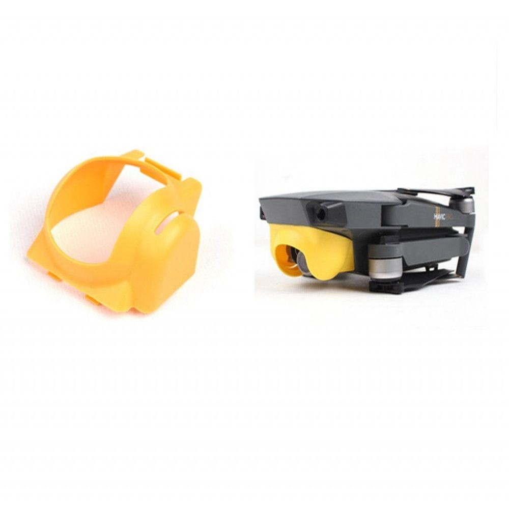 Protetor de Sol Para Lente Câmera Gimbal Drone DJI Mavic Pro - Laranja