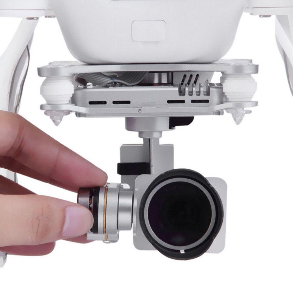 Protetor de Sol Sunhood Lente Drone DJI Phantom 4 Phantom 3 Pro e Adv