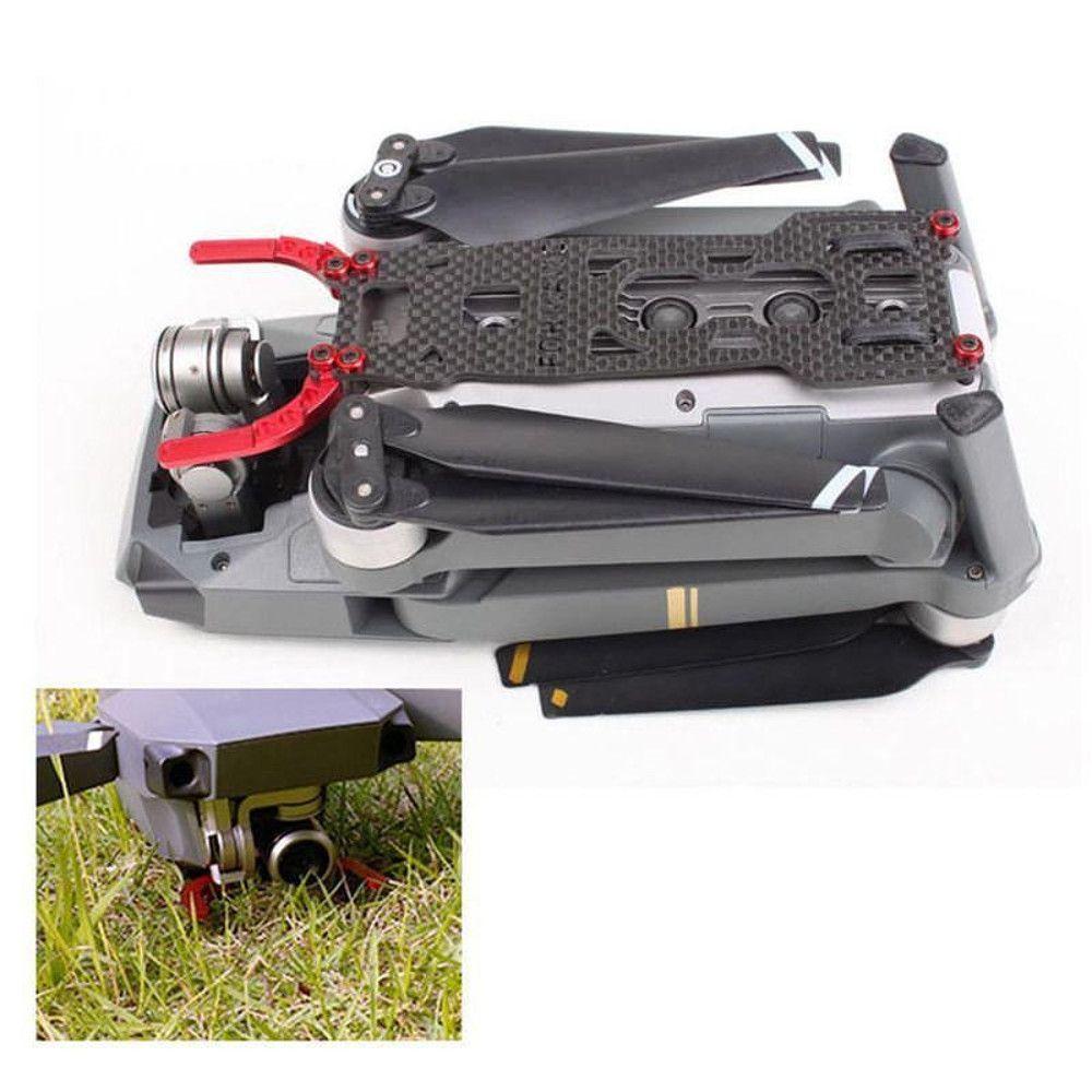 Protetor em Fibra de Carbono e Alumínio Para Drone Dji Mavic Pro