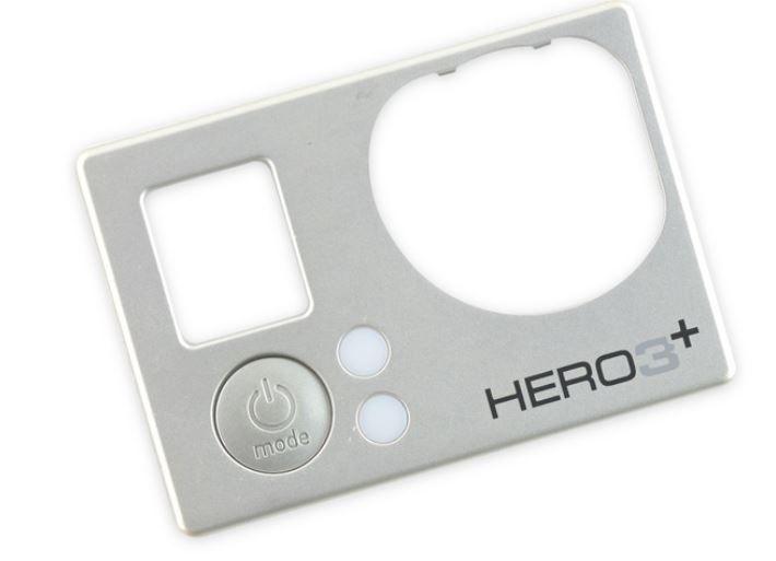 Reposição Tampa frontal GoPro Hero 3+ Silver