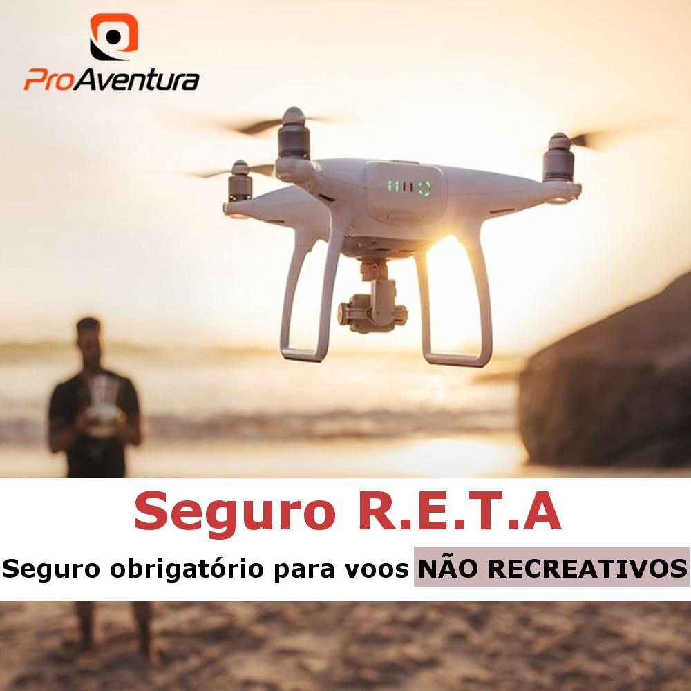 Seguro Drone R.E.T.A - Responsabilidade do Explorador e Transportador Aéreo