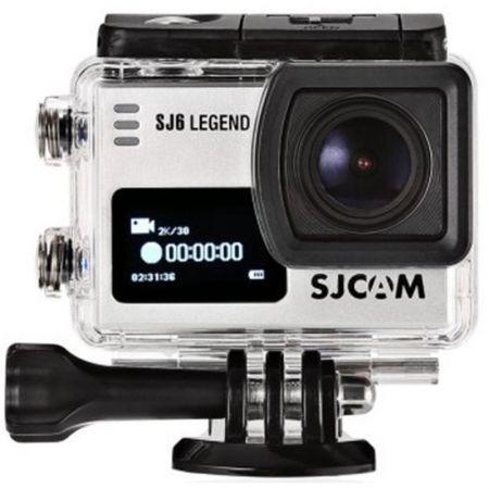Câmera de Ação Sjcam Sj6 Legend Wifi - Actioncam 4k - Original + Acessórios - Prata