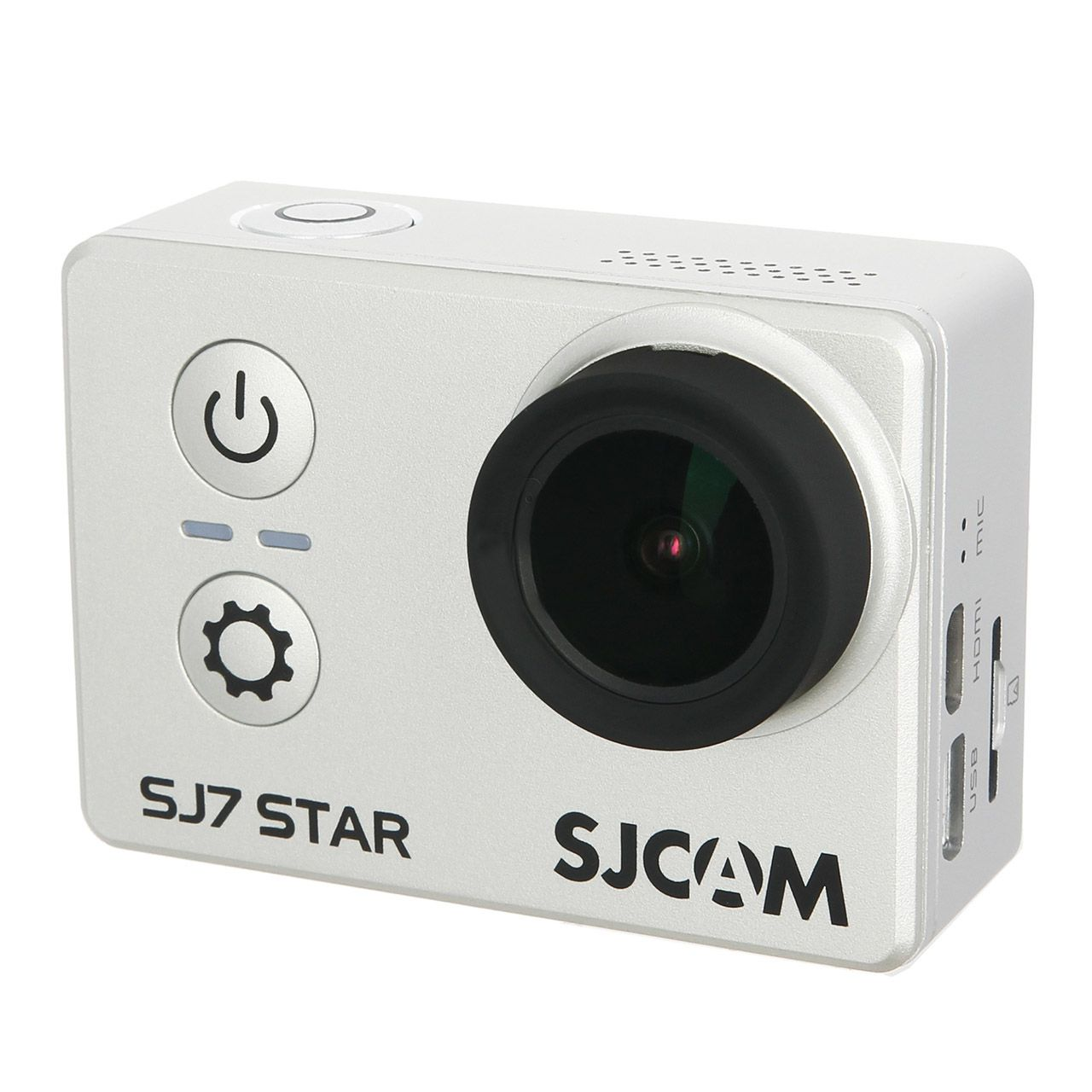 Sjcam Sj7 Star 4k Original Wifi 16mp Touch Tela 2pol - Prata