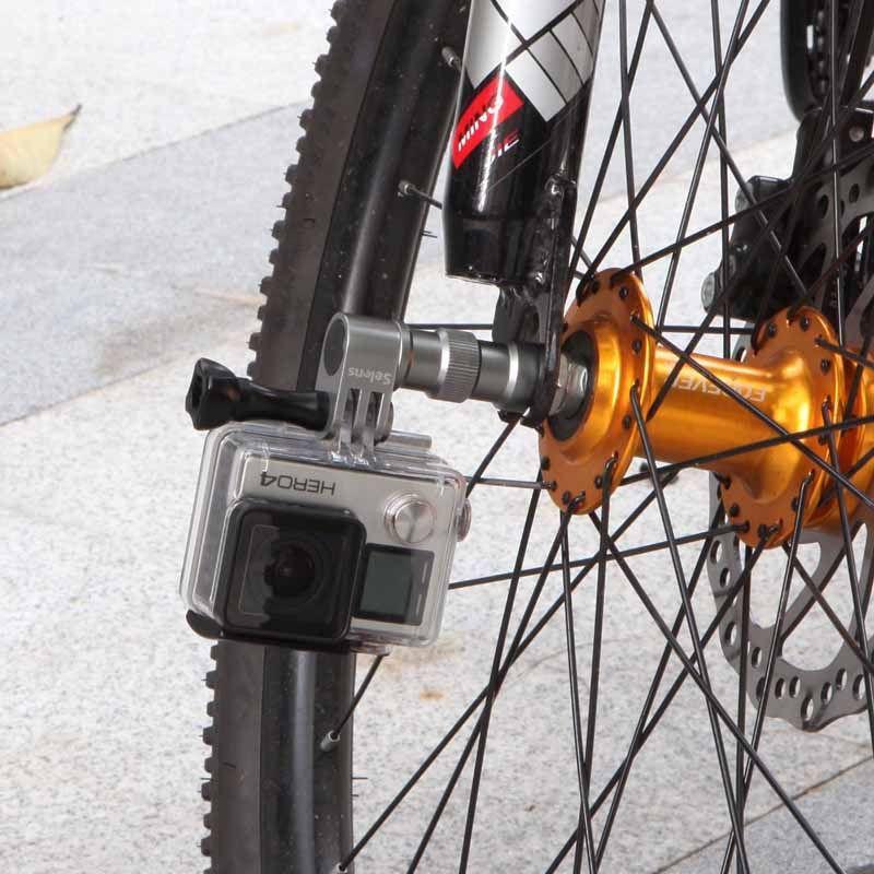Suporte adaptador roda pneu bike em alumínio