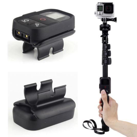 Suporte Adaptador Clipe Para Controle Em Bastão Selfie Gopro