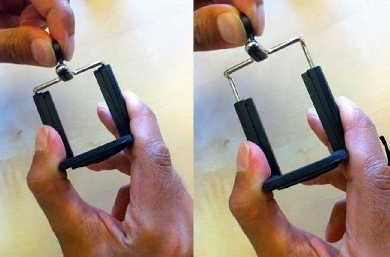 Suporte Adaptador de Celular Smartphone para bastão monopé
