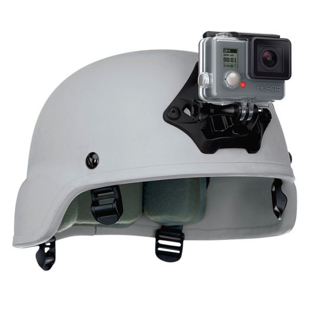 Adaptador Original NVG Capacete Paintball Câmeras GoPro 2-8 ANVGM-001