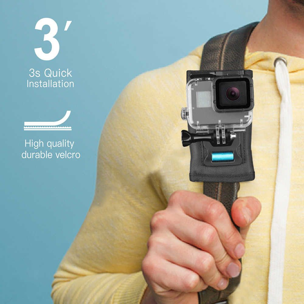 Suporte Alça de ombro ou Mochila para GoPro Sjcam