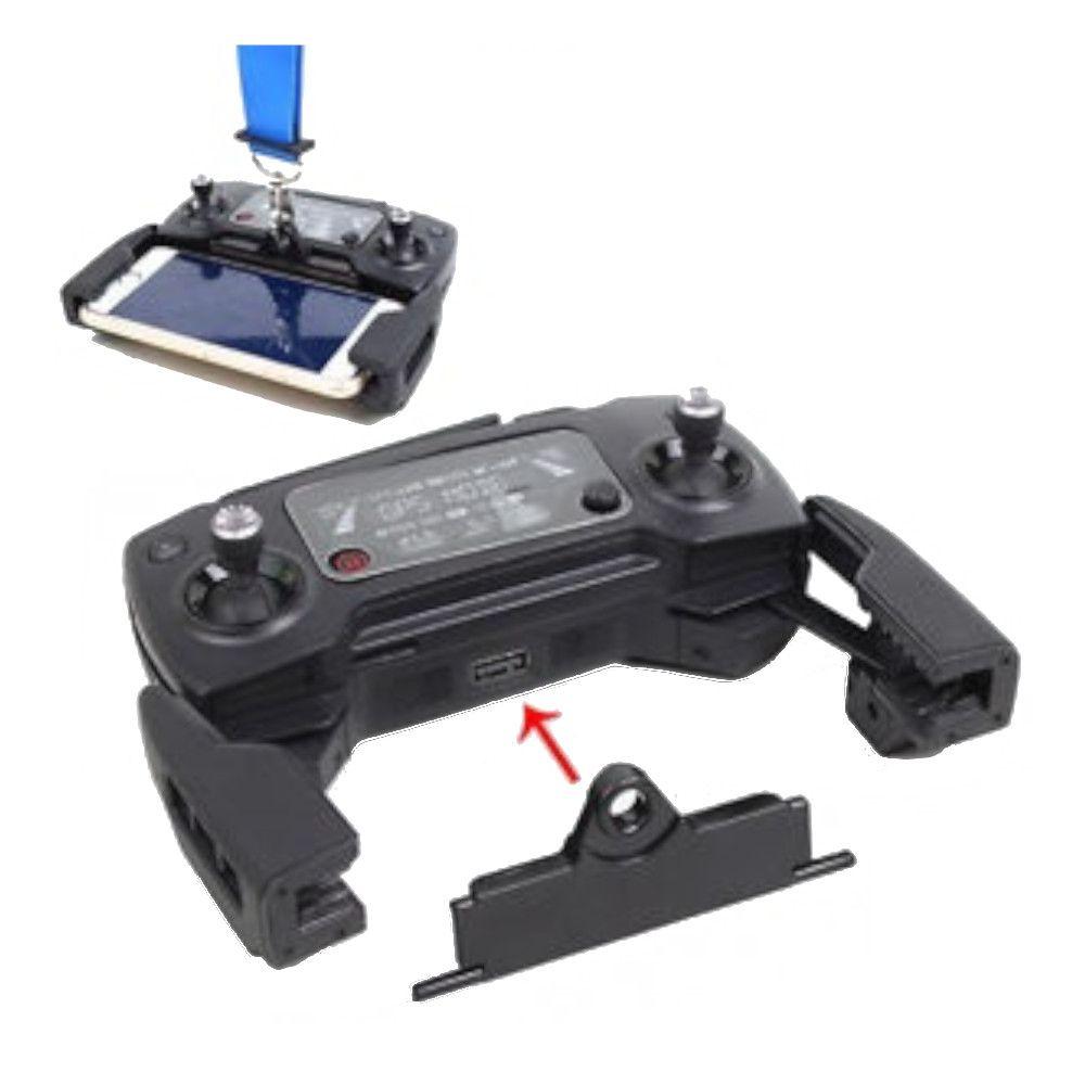 Suporte Alça de Pescoço Controle Drone DJI Spark Mavic Pro e Mavic Air
