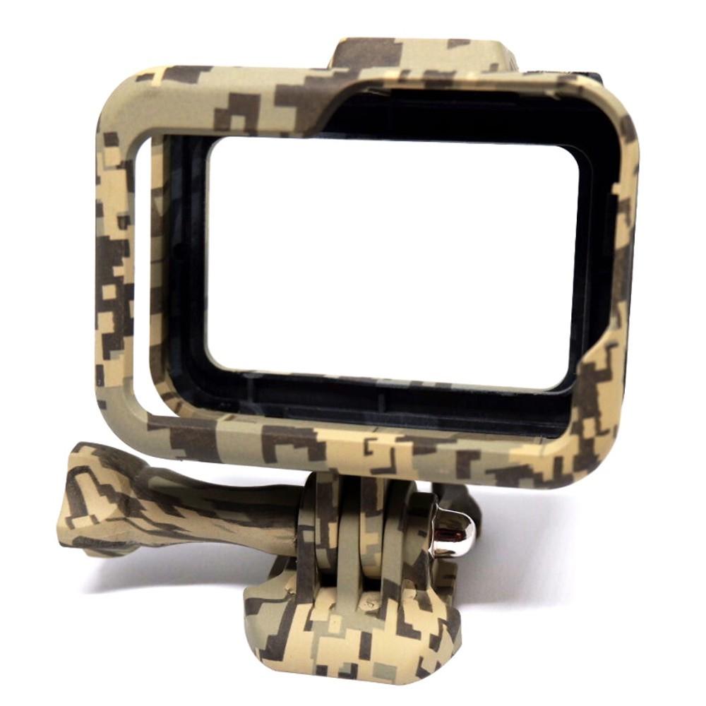 Suporte Armação Moldura Frame Camuflado Cinza Gopro Hero 8