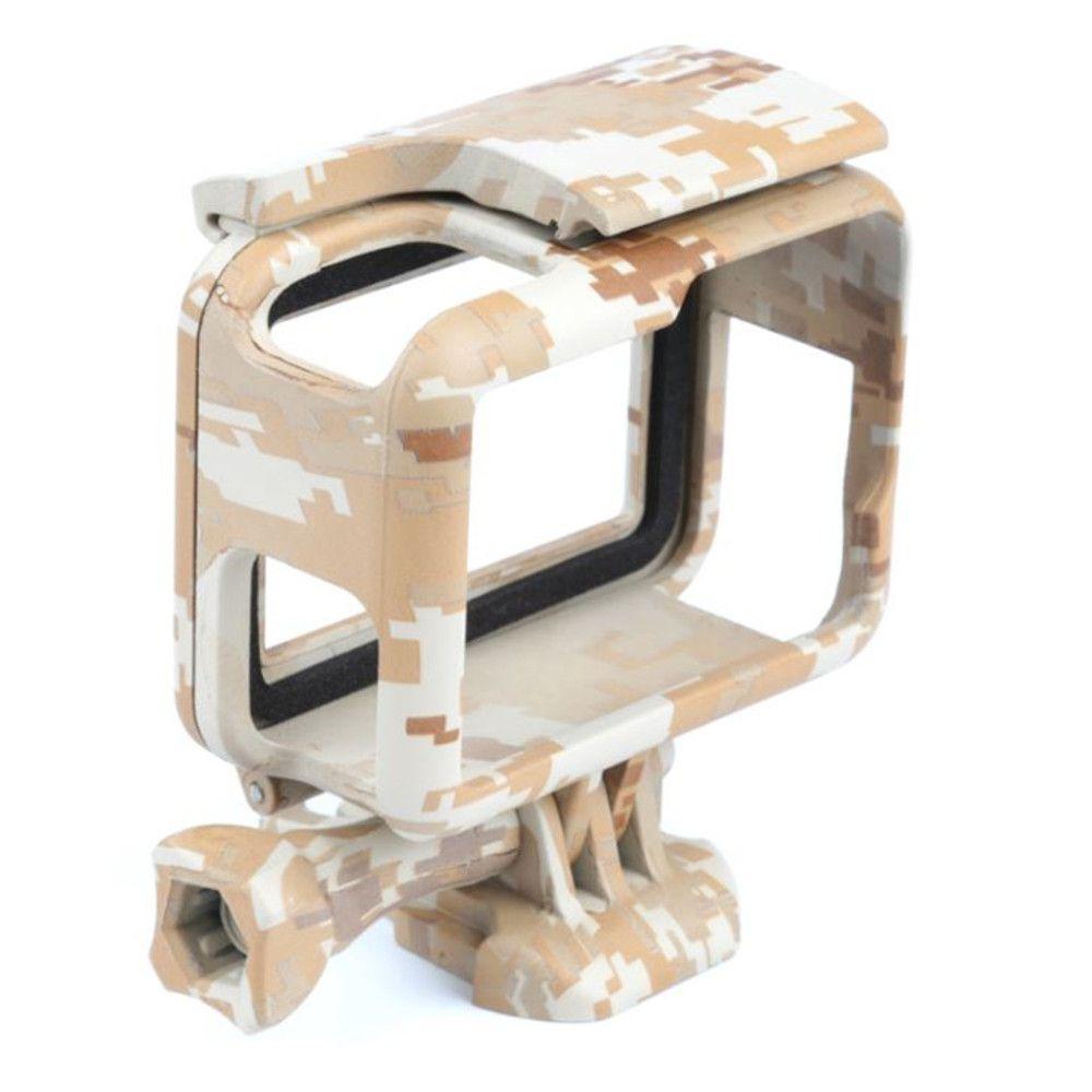 Suporte Armação Moldura Frame Camuflado Marrom Gopro Hero 5/6/7